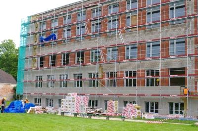 Energoefektivitātes paaugstināšanas darbi Malnavas koledžas jaunajā mācību korpusā un dienesta viesnīcas ēkā